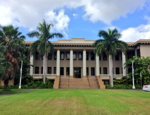 University of Hawaii Campus; Manoa, Hawaii