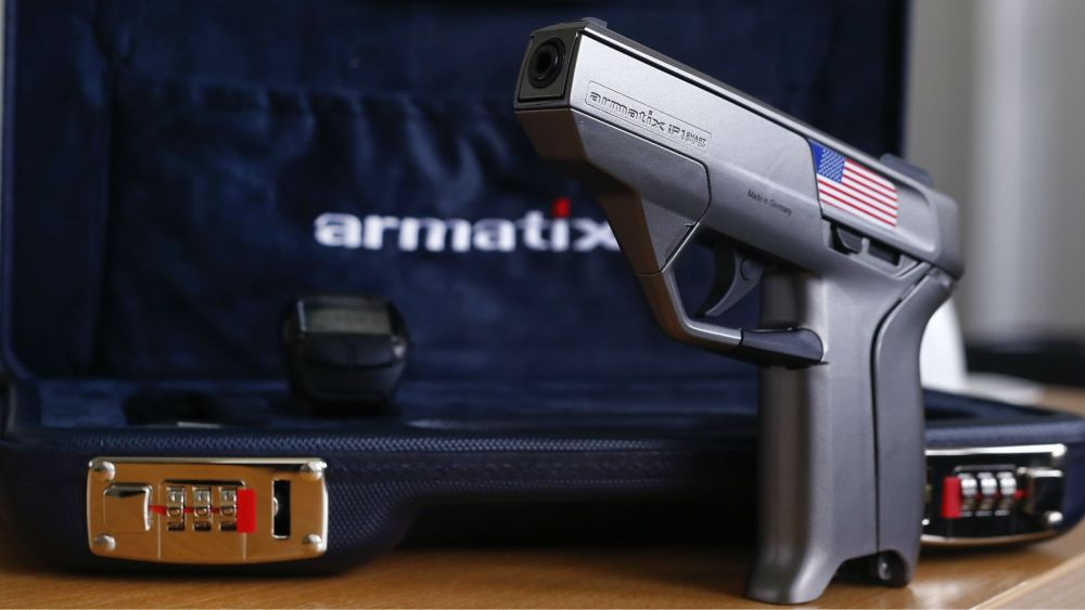 Your iPhone Has a Password, Shouldn't Your Pistol?