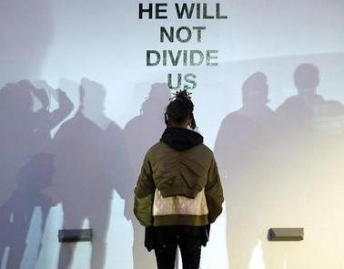 """He Will Not Divide Us"" Project"