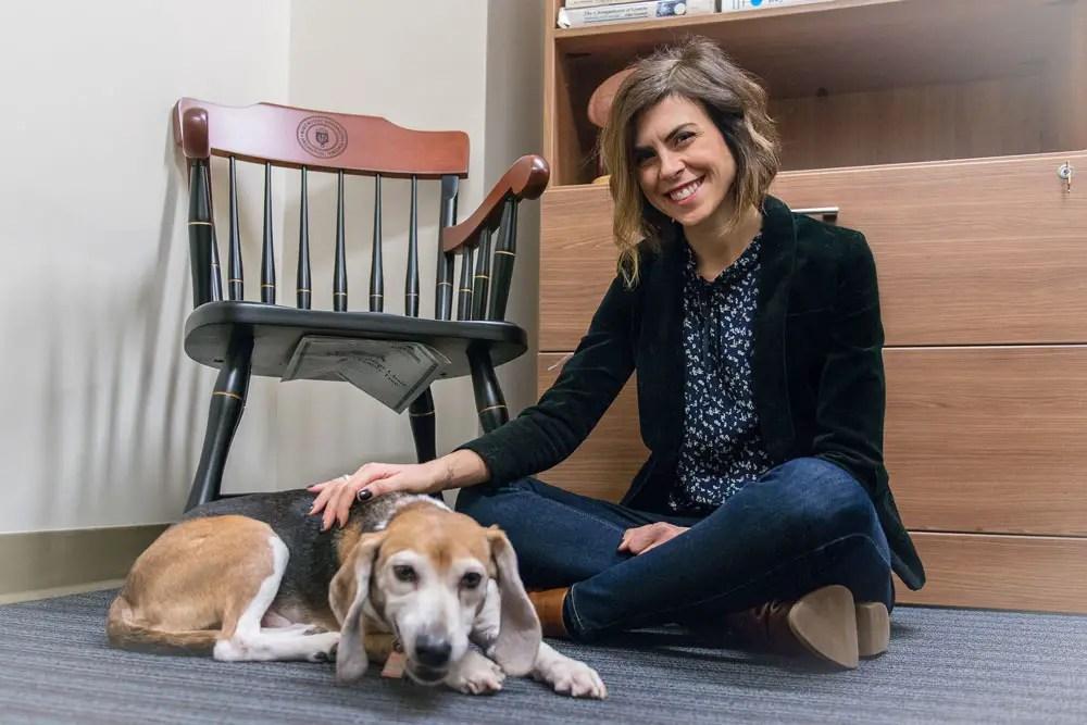 Dr. Stacy Lopresti-Goodman Is Solving Puppy PTSD