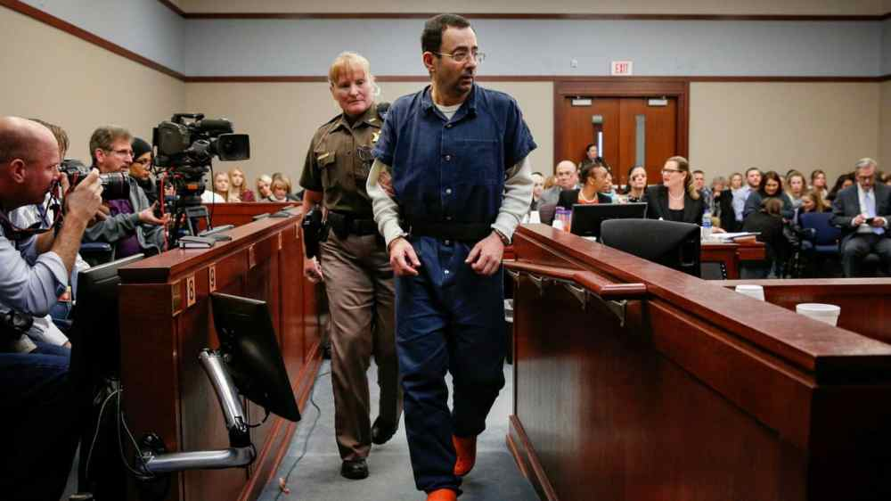 A Male Gymnast Has Accused Larry Nassar of Sexual Abuse