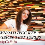 Download CA Inter/IPCC RTP May 2019 | Download IPCC Revision Test Papers