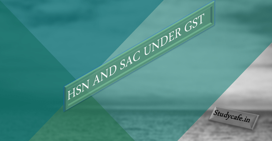 What is HSN Code? Use of HSN Code under GST - Studycafe