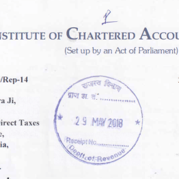 Representation submitted to cbdt by direct taxes committee of icai representation submitted to cbdt by direct taxes committee of icai for making chartered accountants ineligible to determine the fmv of unquoted equity spiritdancerdesigns Gallery