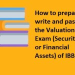 How to prepare for the Valuation Exam (Securities or Financial Assets) of IBBI