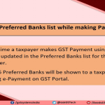 New Updates introduced on GST Portal by GSTN