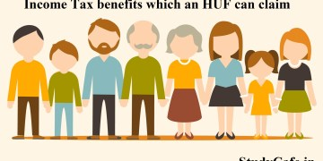 Income Tax benefits which an HUF can claim