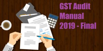 GST Audit Manual 2019 - Final