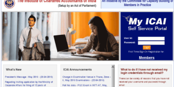 User Manual For the Articles To Logging Into ICAI SSP Portal