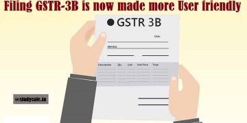 Filing GSTR-3B is now made more User friendly