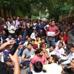 ICAI Protest: Thousands of CA students protest against errors in evaluation of answer scripts