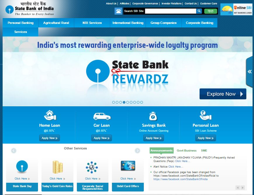 Bank India Personal Loan Interest Rate