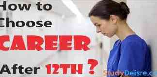 how to choose career after 12th