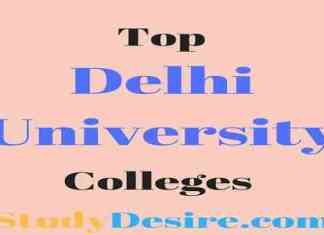 Top Delhi university colleges
