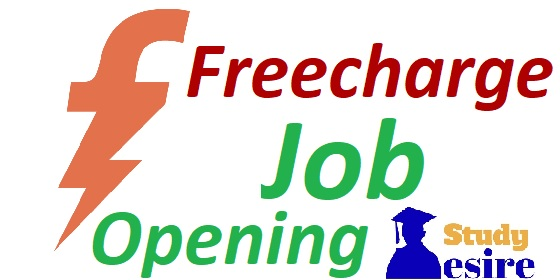 Freecharge Jobs 2019, Recruitment Openings Careers Freshers & Exp Walkin Drives