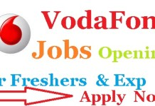 Vodafone Recruitment 2019