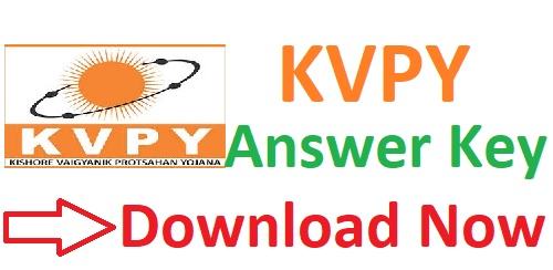 KVPY Answer Key 2018