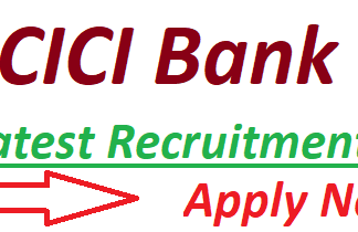 ICICI Bank Recruitment 2019