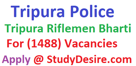 Gel all details of Tripura Police Recruitment 2019 to apply online for Tripura Police Jobs Vacancy 2019 & Tripura Police Bharti 2019