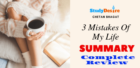 The 3 Mistakes Of My Life Book Summary & Review By Chetan Bhagat