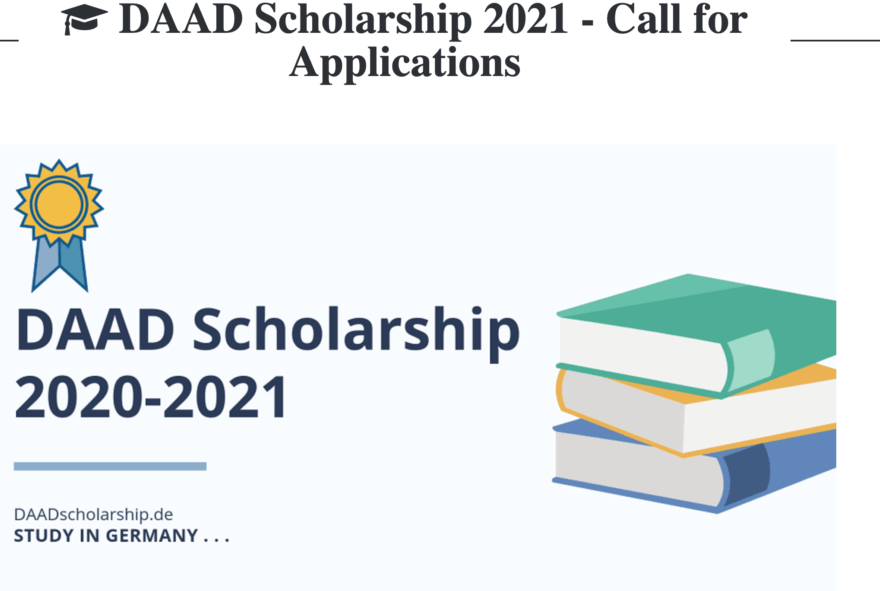 Apply for Recent Fully Funded DAAD Scholarships for Study Abroad in Germany