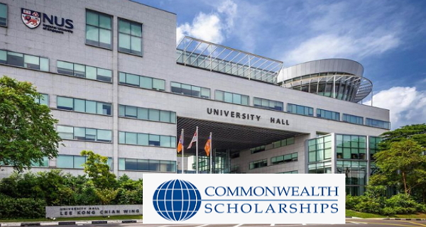Commonwealth Scholarship at the National University of Singapore 2020