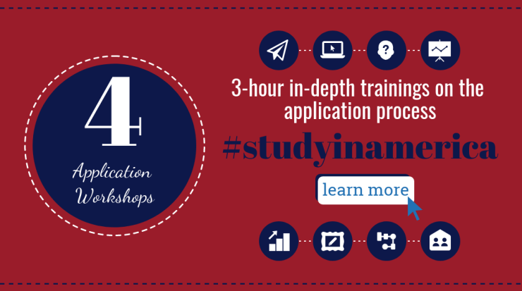 study in America - in-depth application workshops