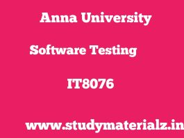 IT8076 Software Testing