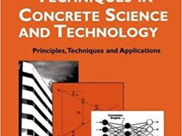 Analytical Techniques in Concrete Sciences and Technology