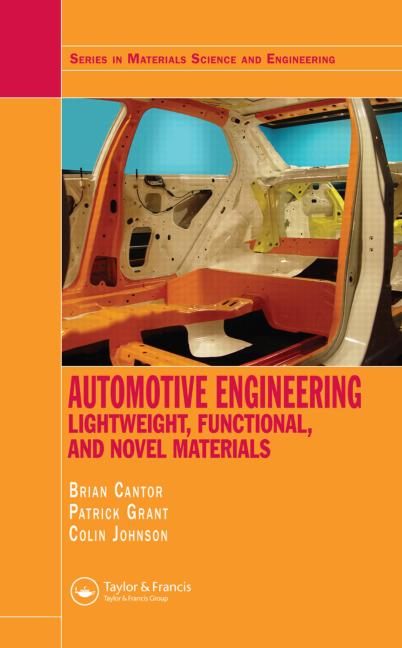 Automotive Engineering Lightweight, Functional, and Novel Materials Book