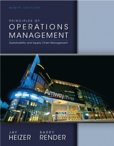 Operations Management Book (PDF) By Jay Heizer, Barry Render