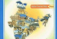 India Tourist Road Atlas By Dr R P Arya