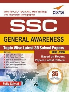 SSC General Awareness Topic-wise Latest 35 Solved Papers