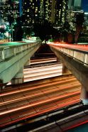 Jeff Shelton. 110 Overpass. Downtown Los Angeles.