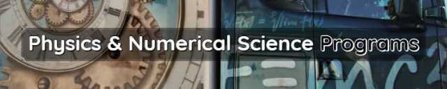 Physics & Numerical Science Programs Scope & Admissions