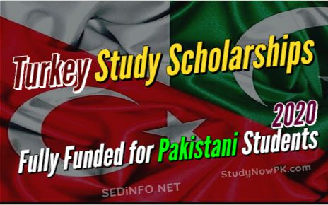 Turkey Study Scholarships Fully Funded for Pakistani Students 2020 fi