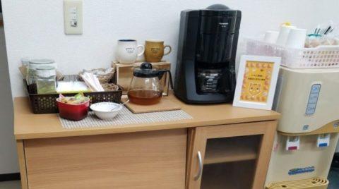 練馬校の喫茶コーナー