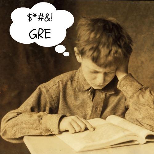 Average GRE students get average GRE scores