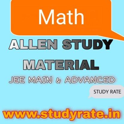 ALLEN Math Modules Download PDF Free