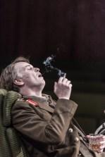 Paul McEwan as King Edward VI. Photo credit: Marc Brenner. Richard III, London, Trafalgar Studios