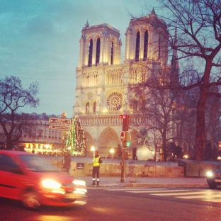 Notre Dame. Photo by Cornelia Kaufmann