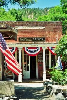 "Genoa Bar & Saloon, Nevada's oldest ""thirst parlour"". Copyright Cornelia Kaufmann"
