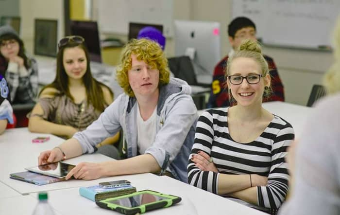 Students in Slovenia