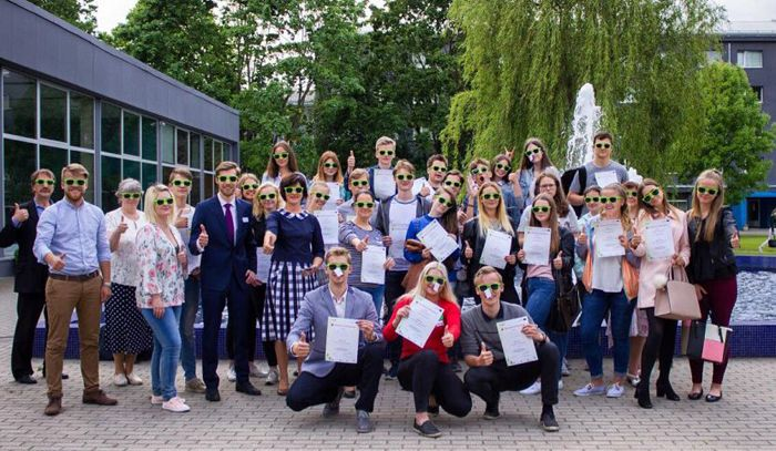 Students in Latvia