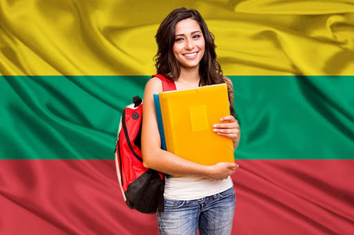 Students in Lithuania