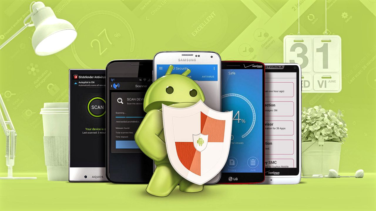Virus Guard Android Phones