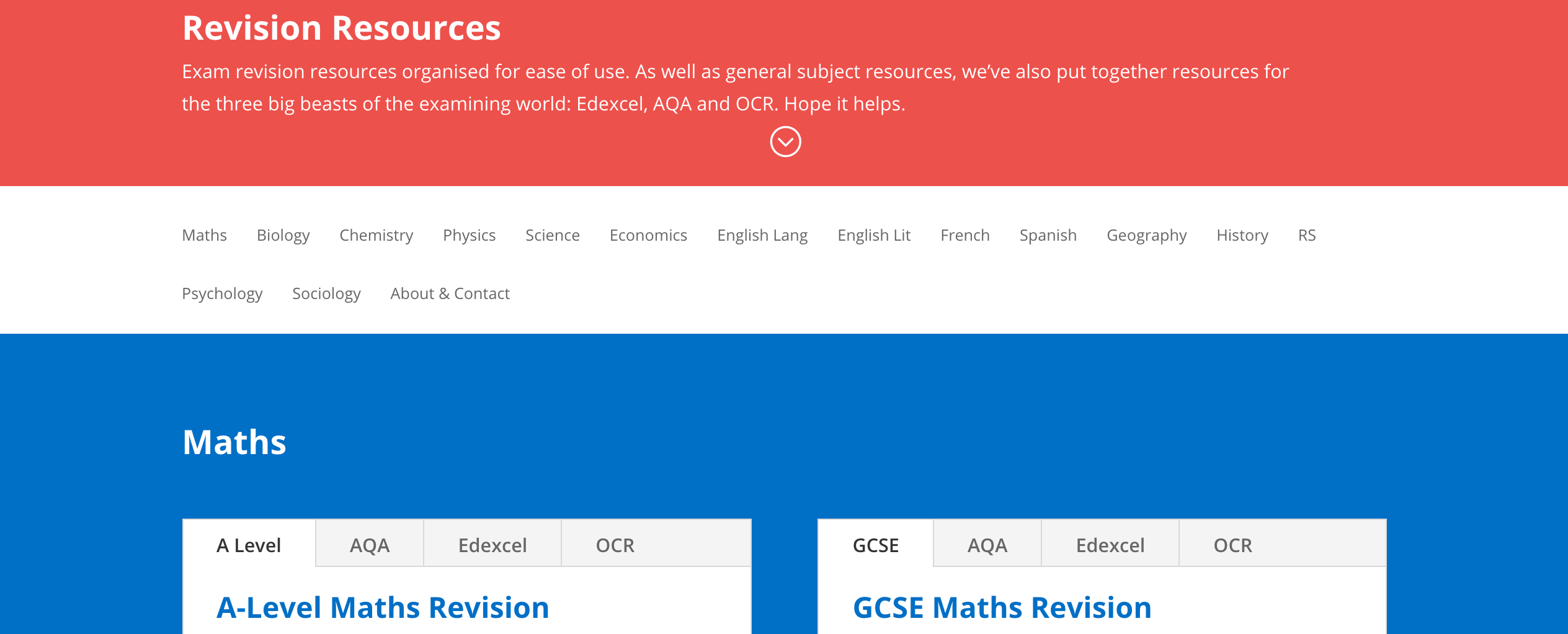 GCSE and A-Level Revision Resources - StudyWise