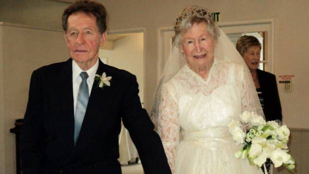Auckland Bride Fits Wedding Dress 60 Years Later To
