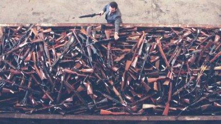 Thousands of guns were handed back under a buy back scheme in Australia following the Port Arthur massacre. (File photo)