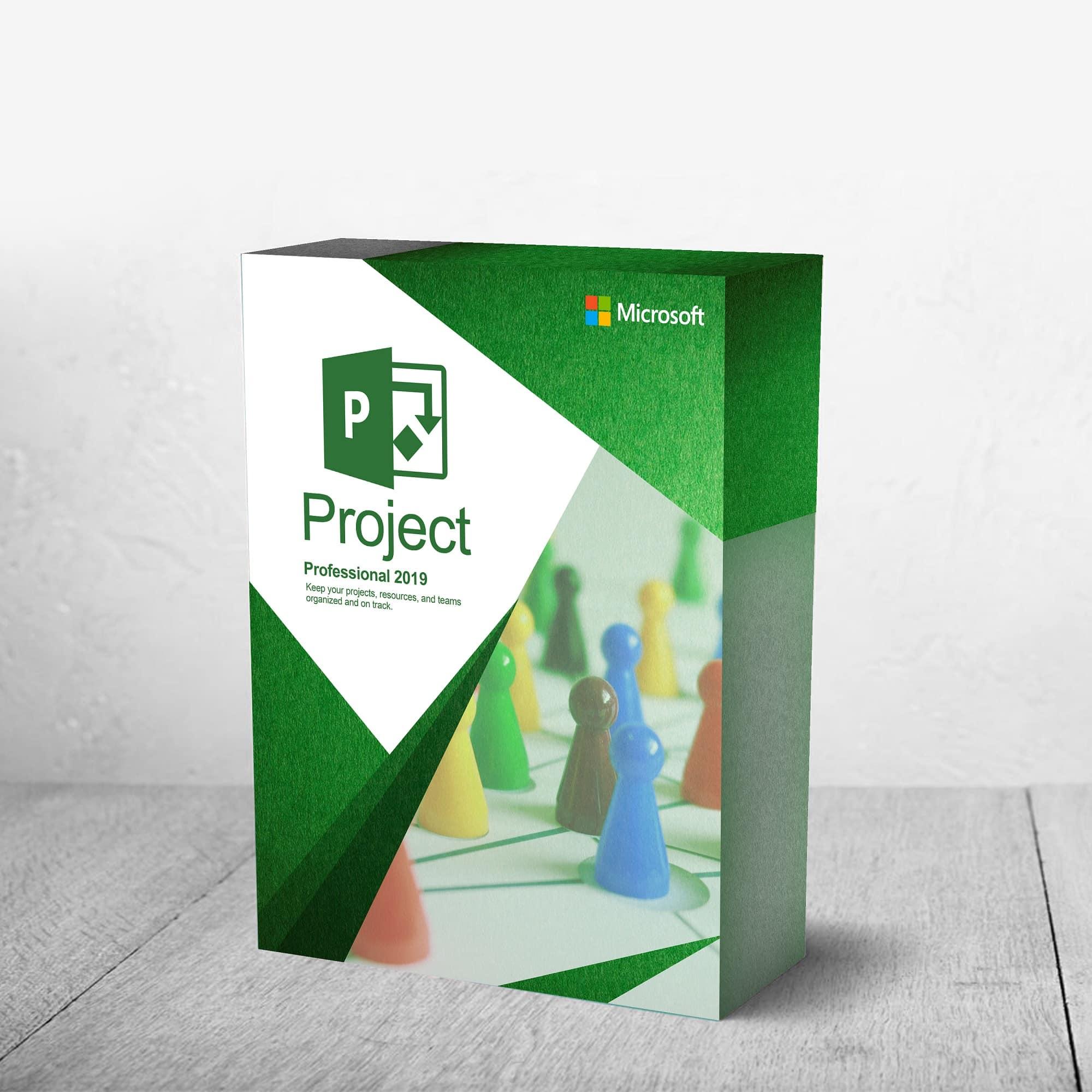 Microsoft Project 2019 Professional 1 Pc Product Key Code Download Refurb Stuff4pc